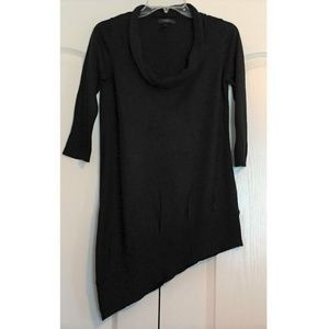 Jessica Simpson Sweater Top XS Black Cowl Neck